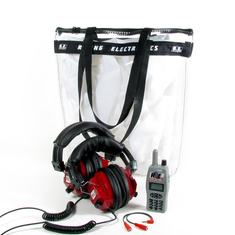 PACKAGE - RE1000 SCANNER & DUAL HEADPHONES  COMBO