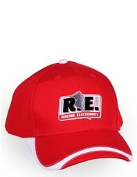 HAT - RED & WHITE
