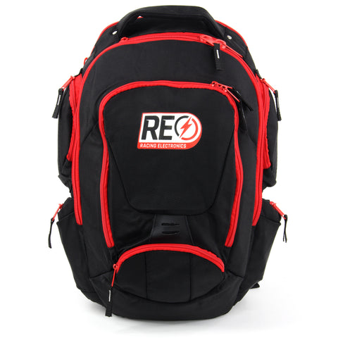 BACKPACK - PROFESSIONAL SPOTTERS STYLE, BLACK & RED