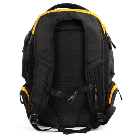 BACKPACK - PROFESSIONAL SPOTTERS STYLE, BLACK & YELLOW