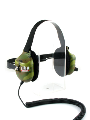 HEADPHONE - CAMO PLATINUM BEHIND HEAD