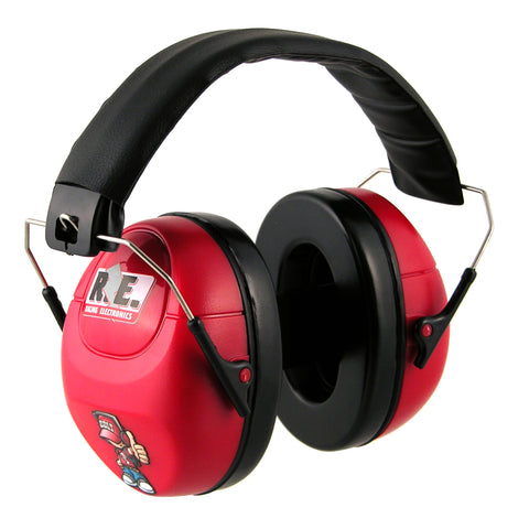 HEARING PROTECTOR -  CHILD, RED