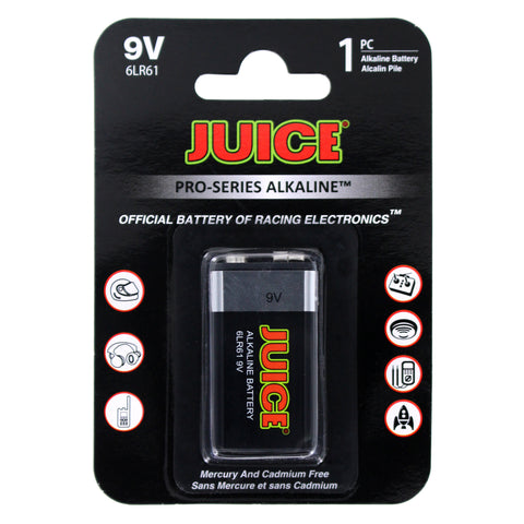 BATTERY - JUICE 9V ALKALINE