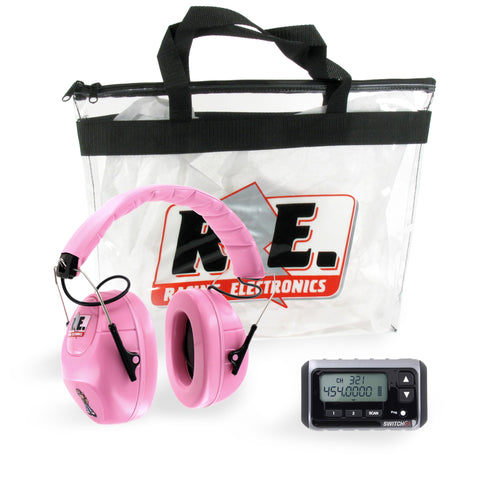 PACKAGE - YOUTH SWITCH WITH PINK HEADPHONE