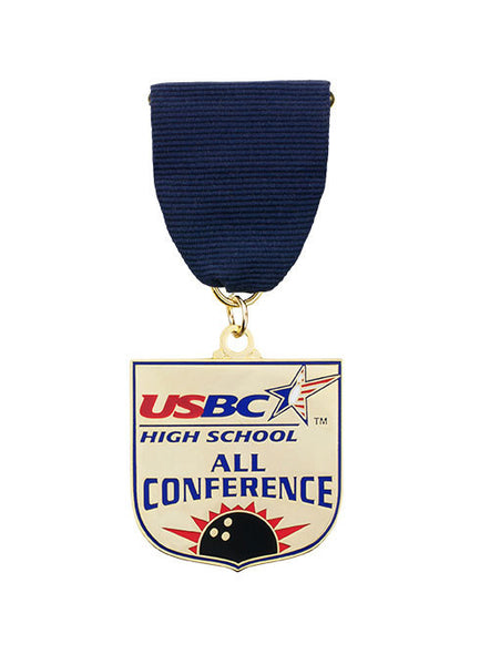 USBC High School All Conference Medallion