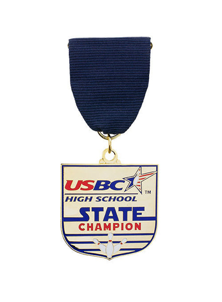 USBC High School State Champion Medallion