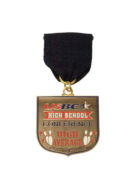 USBC High School Conference High Average Medallion