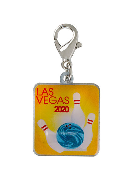 2020 Women's Championships Yellow Shoe Charm