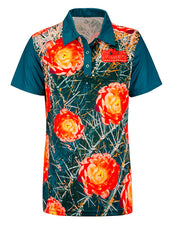 2020 Women's Championships Sublimated Floral Polo