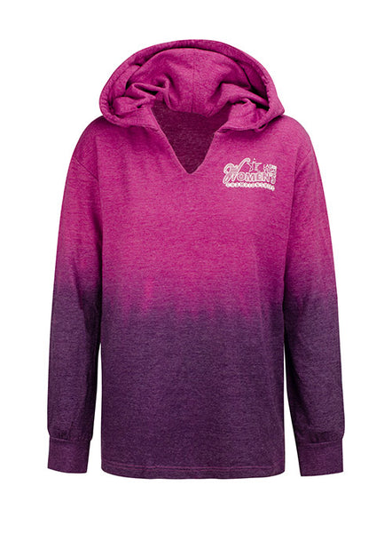 Ladies Women's Championships 2020 Purple Ombré Hoodie