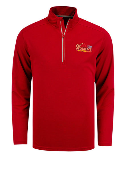 2020 Women's Championships Red Quarter Zip