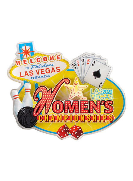 2020 Women's Championships Wood Magnet