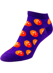 Ladies Bowling Purple Socks
