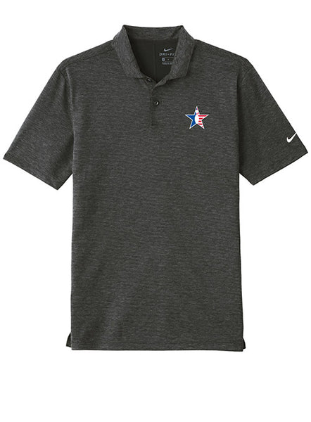 Black Nike Performance Polo