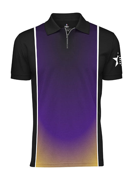 Pin Star Sublimated Performance Dim Design Polo