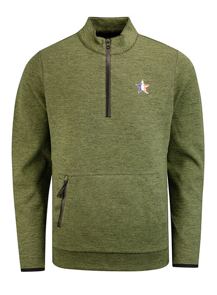 Performance Heather Quarter Zip Pullover