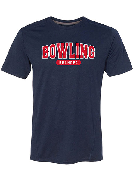 Bowling Grandpa Performance T-Shirt