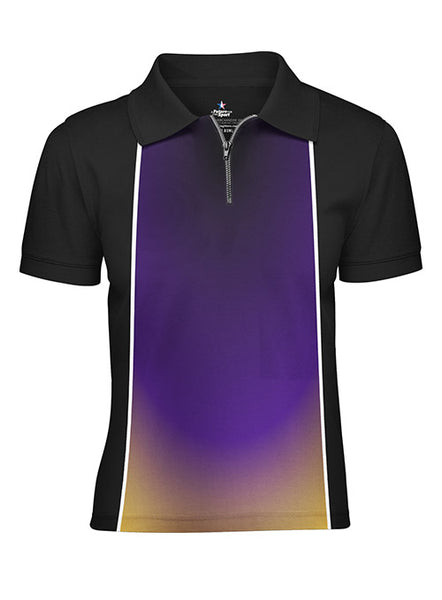 Youth Pin Star Sublimated Performance Dim Design Polo