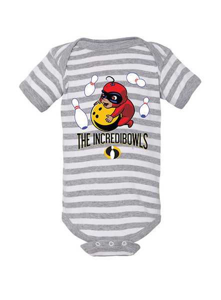Infant Incredibowls Striped Onesie