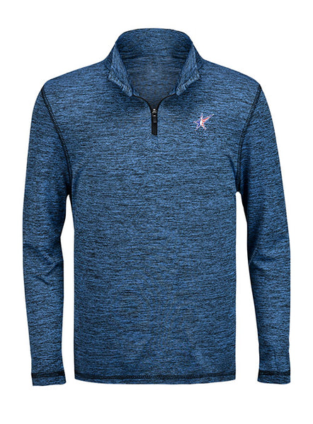 Youth Performance Heather Quarter Zip