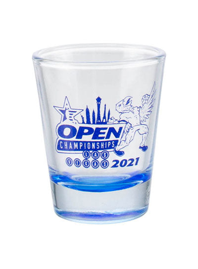 2021 Open Championships Shot Glass
