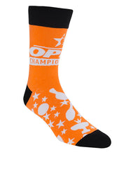 Orange Open Championships Dress Socks