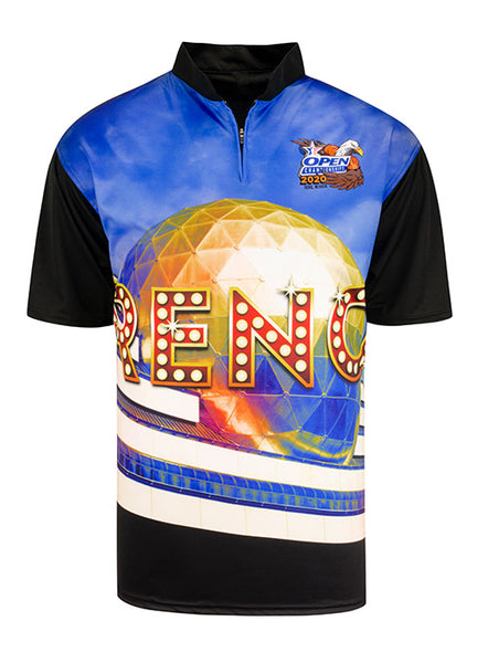 2020 Open Championships Sublimated Reno Polo