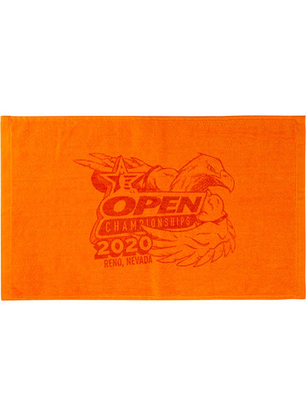 2020 Open Championships Orange Towel