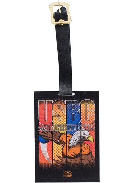 2020 Open Championships Comic Bag Tag