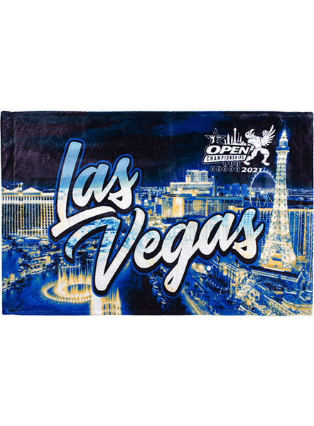 2021 Open Championships Sublimated Vegas Towel