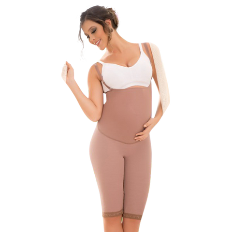 Braless Maternity Girdle with High Compression & Back Support