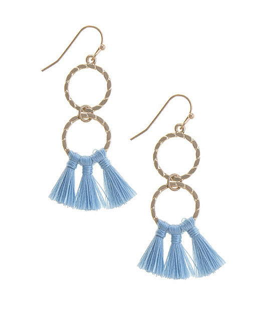 Simone Tassel Earrings