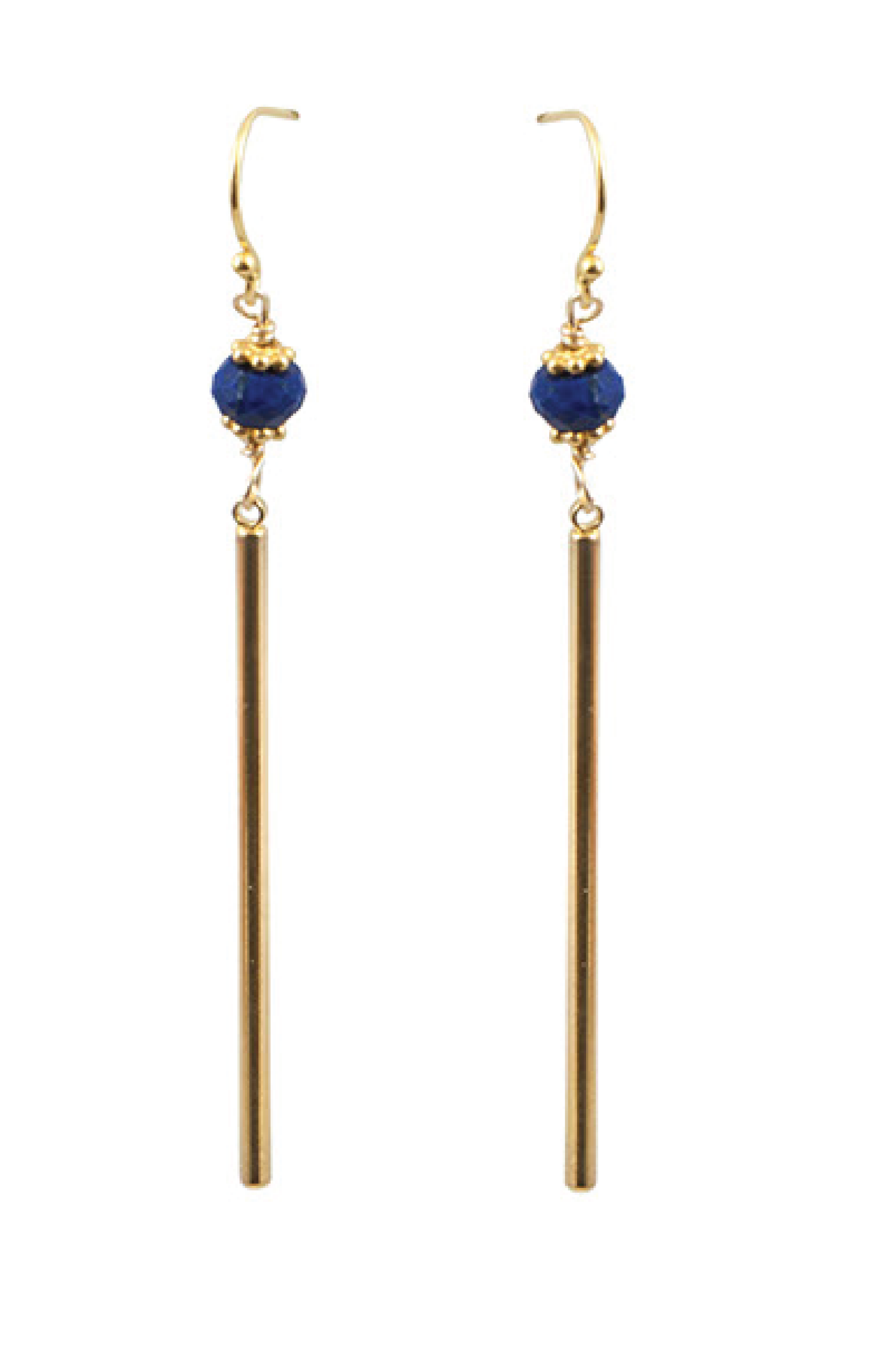 ADMK Blue Lapis Sally Earrings