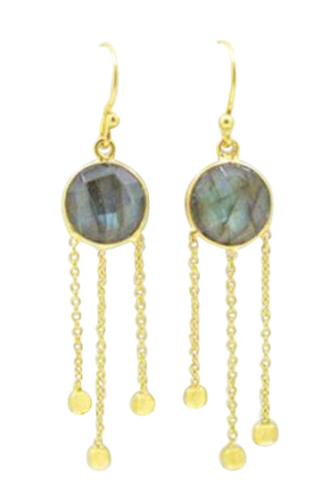 LuLu Earrings in Labradorite