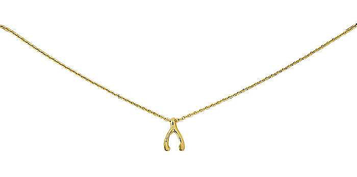 ADMK Wishbone Necklace