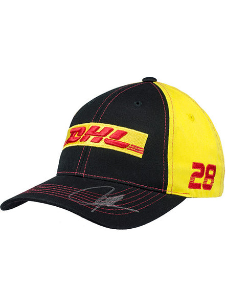 DHL Structured Hat AUTOGRAPHED BY #28