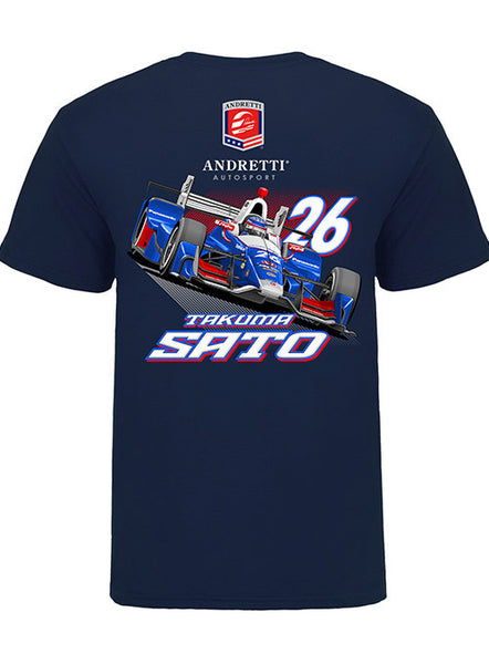 Takuma Sato Car T-Shirt