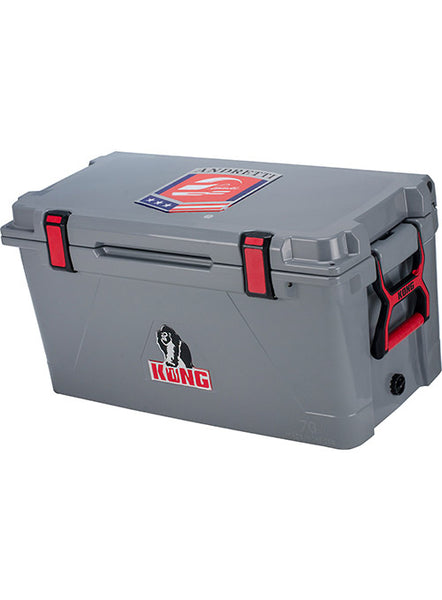 Andretti branded Kong Cooler 70 Qt- Grey