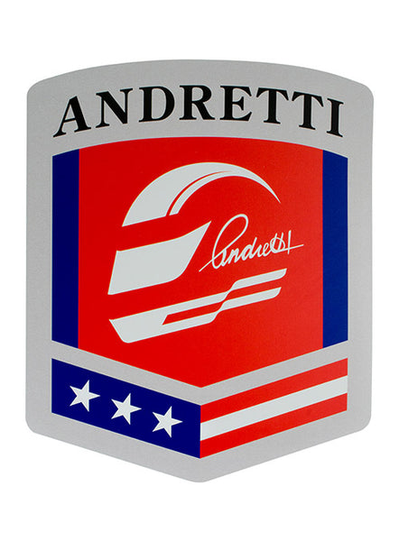 Andretti Autosport Shield Wood Sign