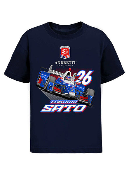 Youth Takuma Sato Car T-Shirt