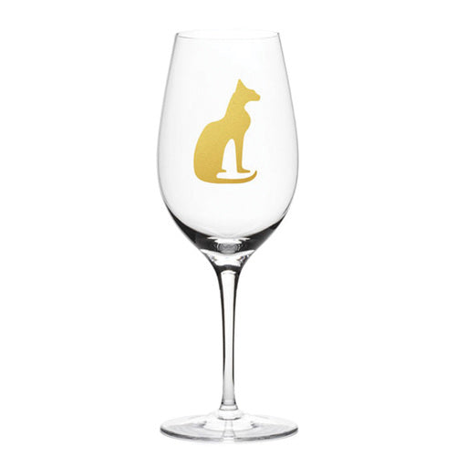 1New - Bastet Stemmed Wine Glass