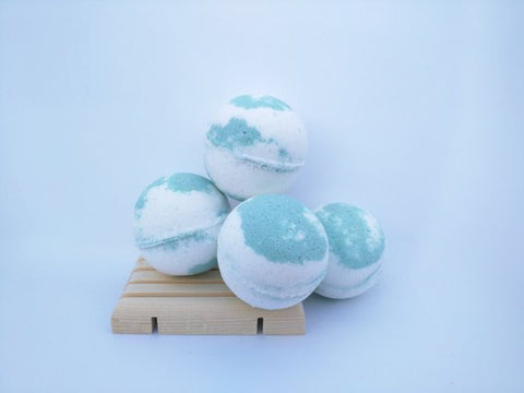 Bamboo Lotus Bath Bomb - 4 ounces