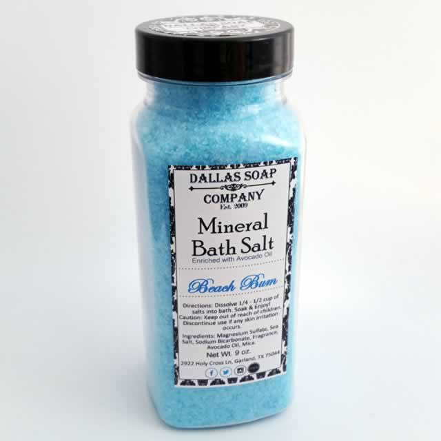 Beach Bum Mineral Bath Salt - 9 oz.