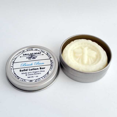 Solid Lotion Bars - Various Scents
