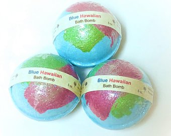 Blue Hawaiian Bath Bomb