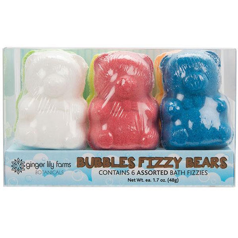 Bubbles Fizzy Bears Assorted 6-ct. - Children