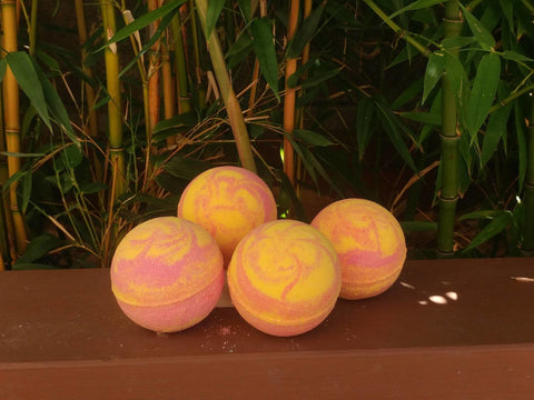 Fire Ball Bath Bomb