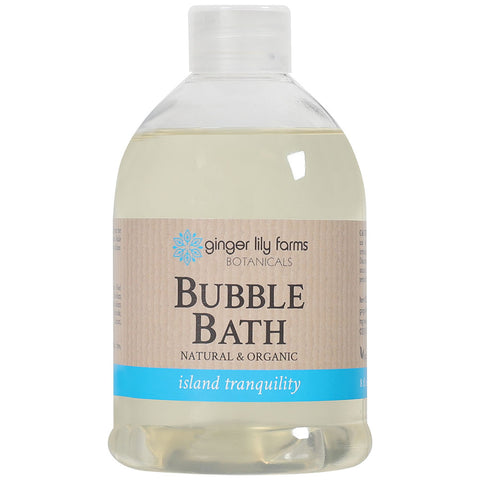 **1New - Ginger Lily Farms Botanicals Bubble Bath Island Tranquility 8 oz