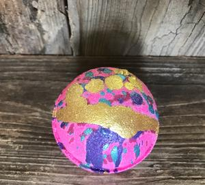 1New  5 ounce Happy Hippy Bath Bomb