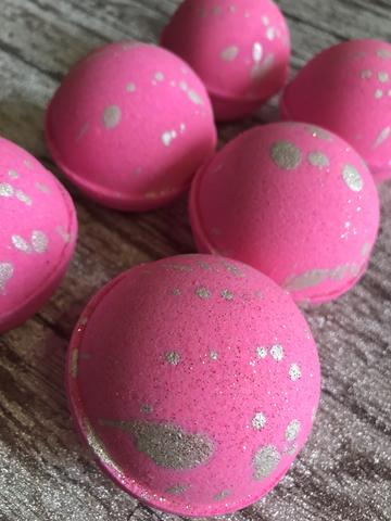 ***1 New - Pink Champagne Bath Bomb - 2.5 ounces